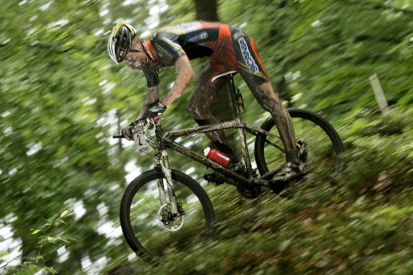 Mistrovství ČR MTB XC 2009 - Karlovy Vary: Filip Eberl