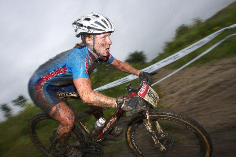 Mistrovství Evropy MTB XC 2009 - Zoetermeer /NED/ - elite: Pavla Havlíková v akci