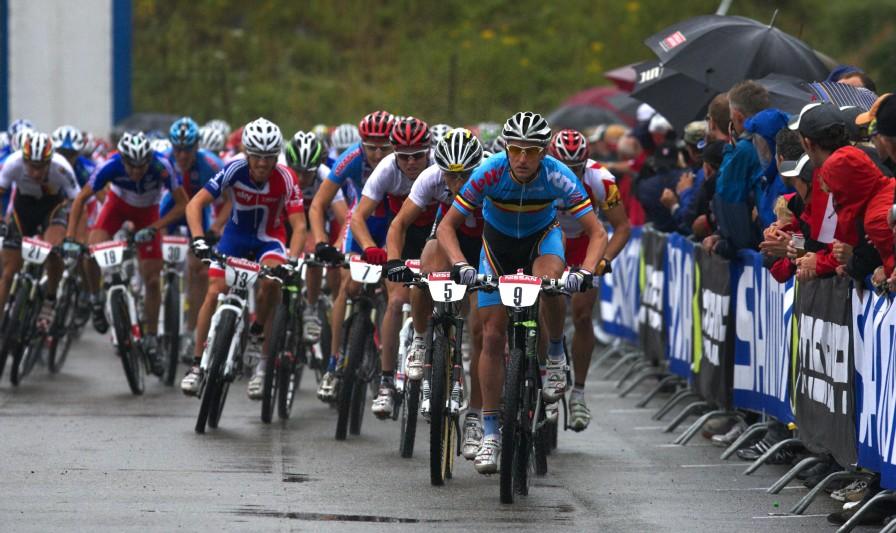 Mistrovství Evropy MTB XC 2009 - Zoetermeer /NED/ - elite: start mužů