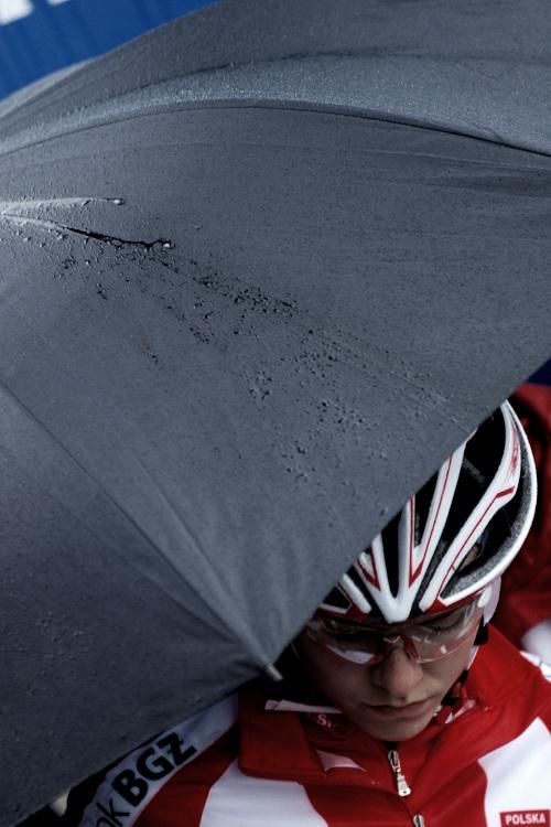 Mistrovství Evropy XC 2009 - Zoetermeer /NED/ - muži & ženy Elite: Maja Wloszczowska před startem