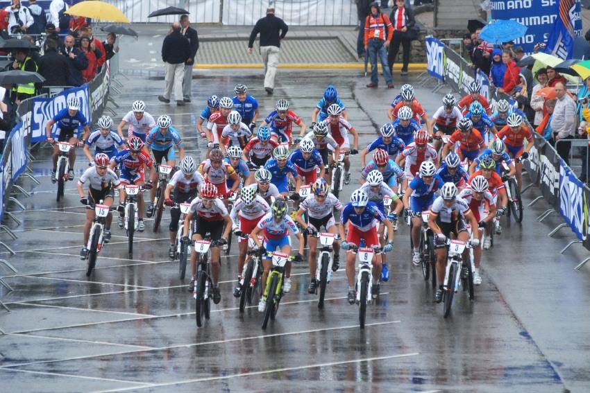 Mistrovství Evropy XC 2009 - Zoetermeer /NED/ - muži & ženy Elite: start žen