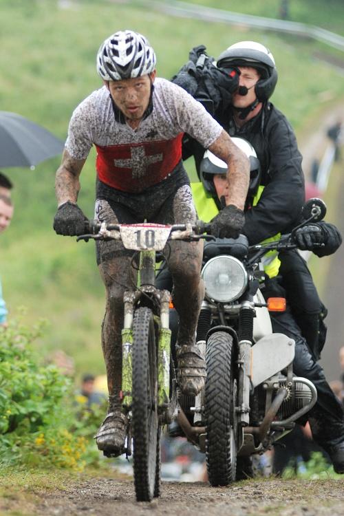 Mistrovství Evropy XC 2009 - Zoetermeer /NED/ - muži & ženy Elite: Naf na nikoho nečekal a jel