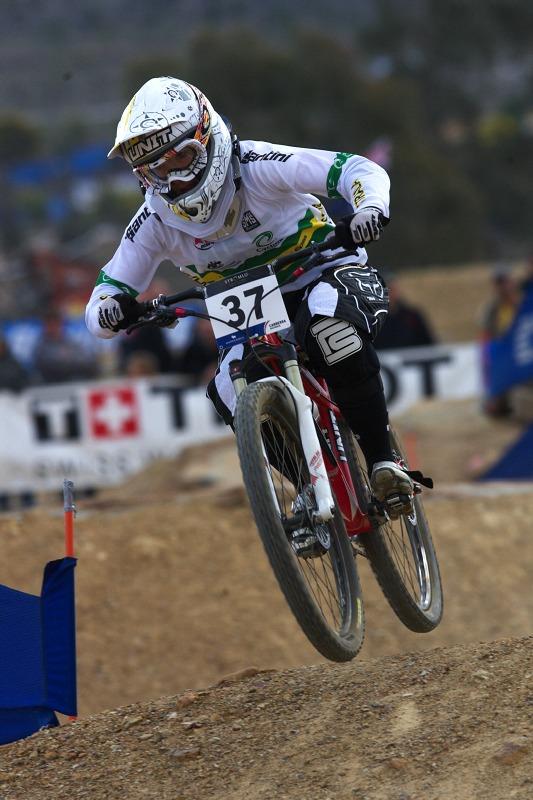 Mistrovství světa MTB 4X 2009 - Canberra /AUS/ - kvalifikace - Caroline Buchanan