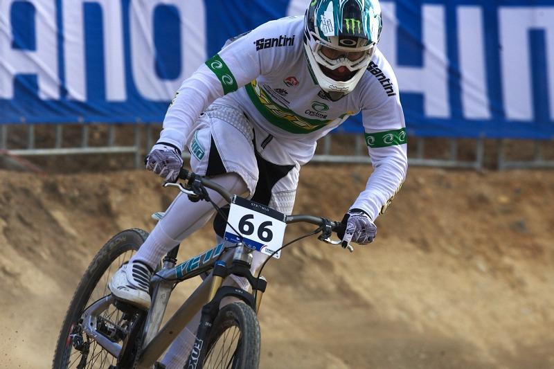 Mistrovství světa MTB 4X 2009 - Canberra /AUS/ - kvalifikace - Jared Graves