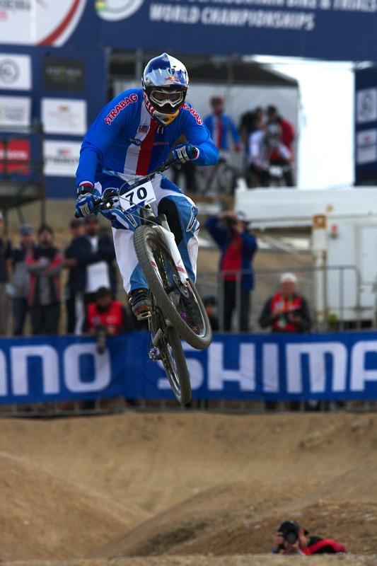 Mistrovství světa MTB 4X 2009 - Canberra /AUS/- kvalifikace - Michal Prokop