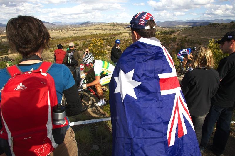 Mistrovství světa MTB XC 2009, Canberra /AUS/ - ozy, ozy, ozy - hej, hej, hej!