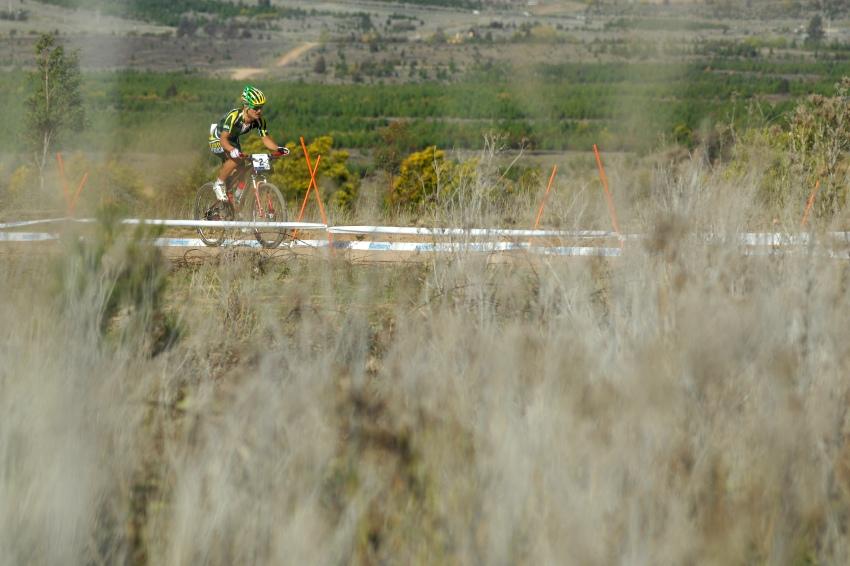 Mistrovství světa MTB XC 2009, Canberra - muži U23: Burry Stander stále osamocen na čele