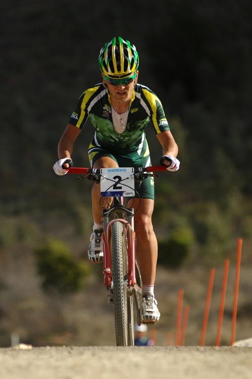 Mistrovstv� sv�ta MTB XC 2009, Canberra - mu�i U23: Burry Stander ve v�jezdu