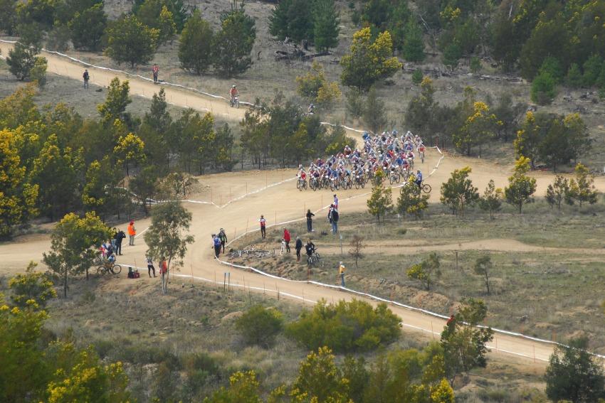 Mistrovstv� sv�ta MTB XC 2009, Canberra - junio�i: zav�d�c� ��st po startu