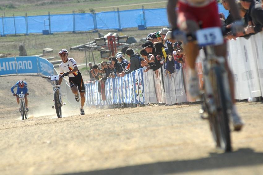 Mistrovství světa MTB XC 2009, Canberra - junioři: sprint a spurt o sedmé místo