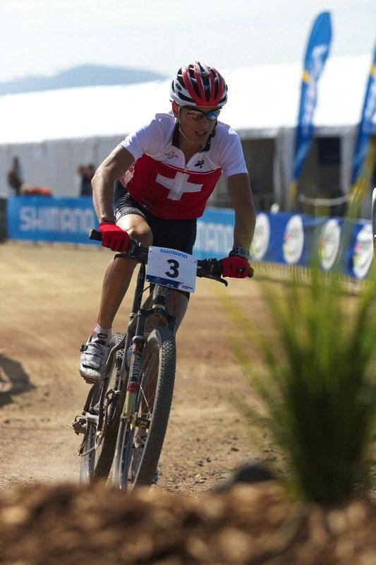 Mistrovství světa MTB XC 2009, Canberra /AUS/ - Reto Indergand