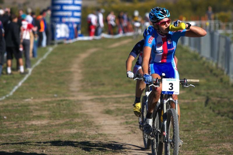 Mistrovství světa MTB XC 2009, Canberra /AUS/ - občerstvení v suchém prosředí je více než žádoucí