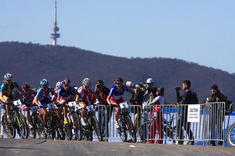 Mistrovství světa MTB XC 2009, Canberra /AUS/ - a fičíme!