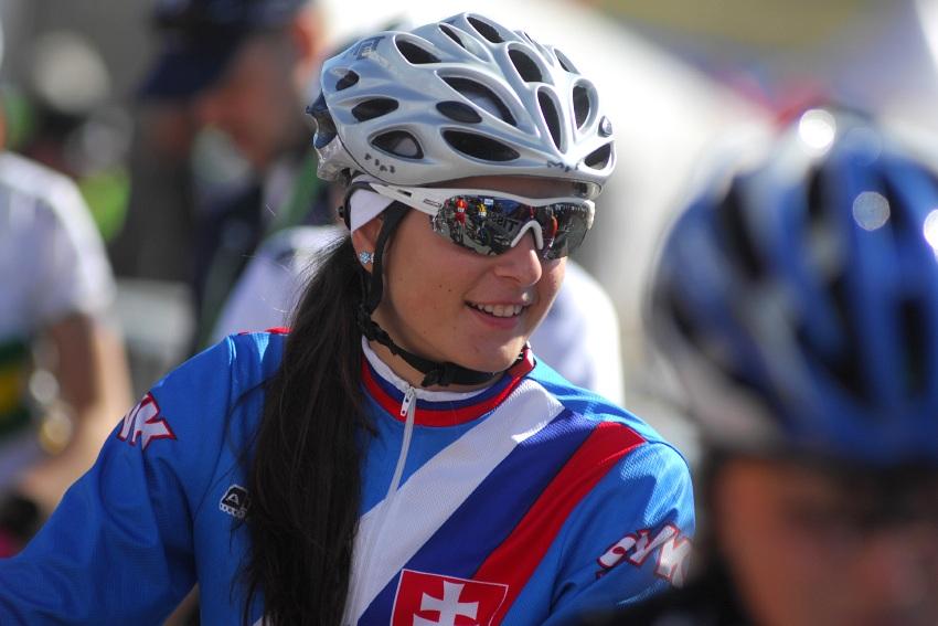Mistrovstv� sv�ta MTB 2009, Canberra - juniorky: Slovenka Nat�lia �imorov�