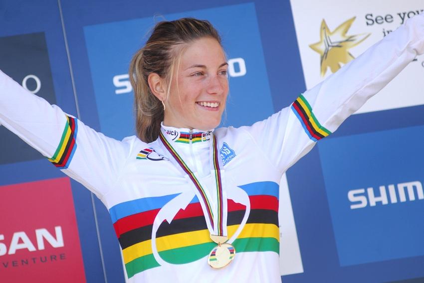 Mistrovství světa MTB 2009, Canberra - juniorky: Pauline Prevot