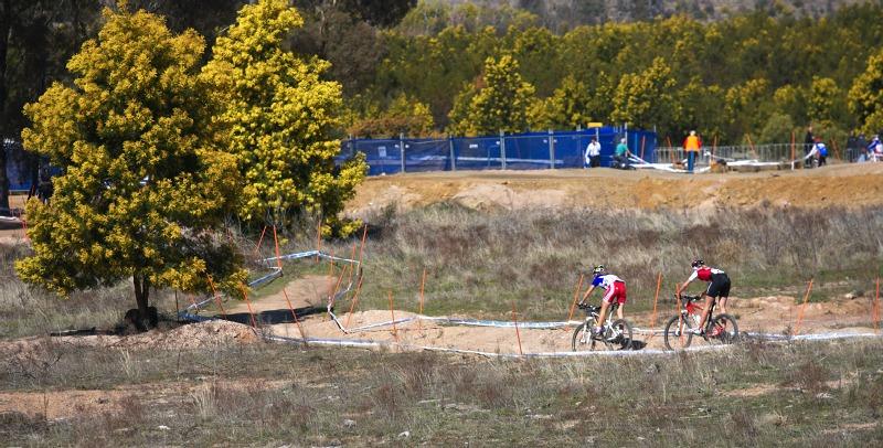 Mistrovstv� sv�ta MTB XC 2009, Canberra /AUS/ - honi�ka Prevot a Hediger