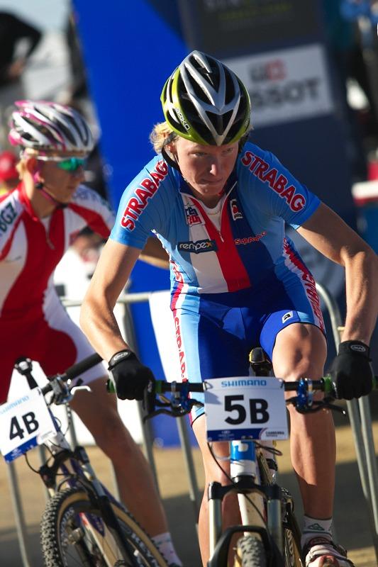 Mistrovství světa MTB XC 2009, Canberra /AUS/ - Honza vyráží na svůj úsek