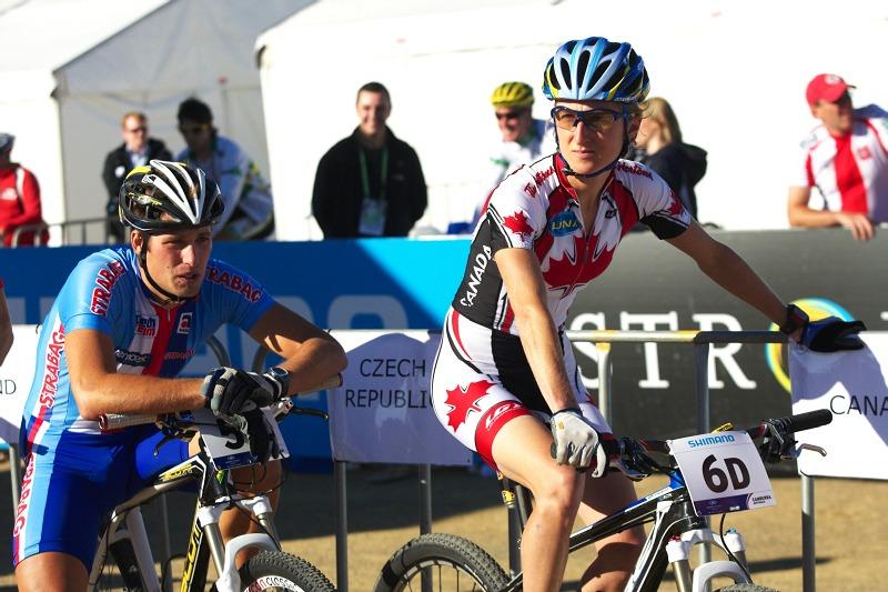 """Mistrovství světa MTB XC 2009, Canberra /AUS/ - """"Zadek nic moc, nohy rychlý, tvář lehce fousatá"""""""