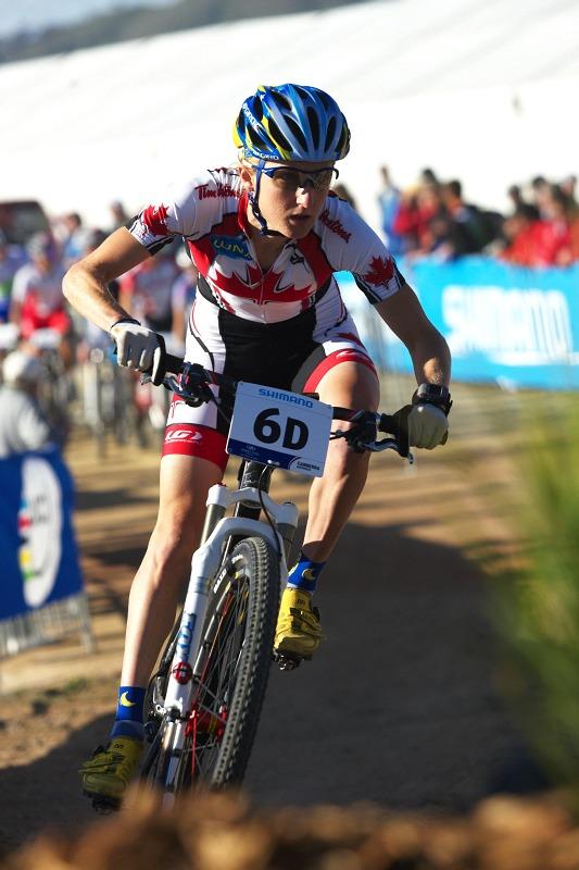 Mistrovství světa MTB XC 2009, Canberra /AUS/ - Catherine Pendrel měla nejrychlejší čas ze všech žen, krajan Kabush dominoval absolutně