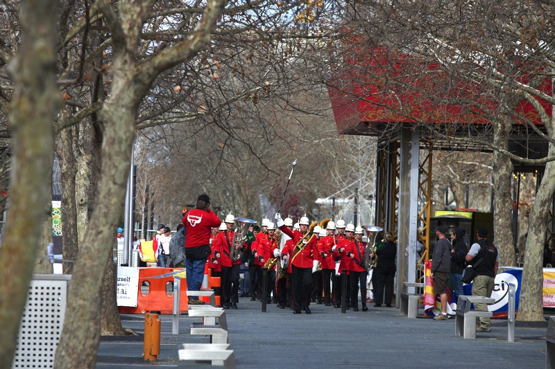 Mistrovstv� sv�ta MTB 2009, Canberra 1. den - zah�jen� MS