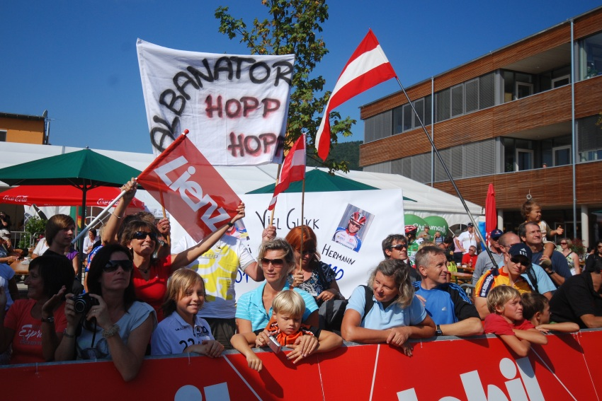 Mistrovství světa v MTB maratonu 2009 - Graz /AUT/: Lakatův Fanklub