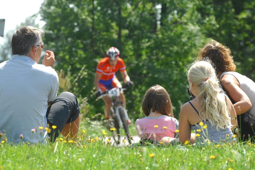 Mistrovstv� sv�ta v MTB maratonu 2009 - Graz /AUT/: fanou�ci