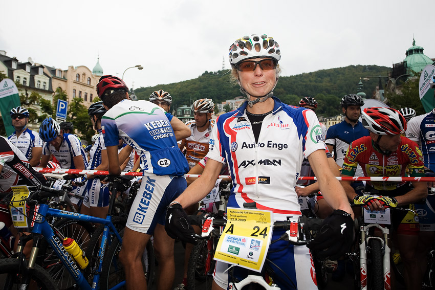 KPŽ AM bikemaraton ČS Karlovy Vary 2009 - Pavlína Černá