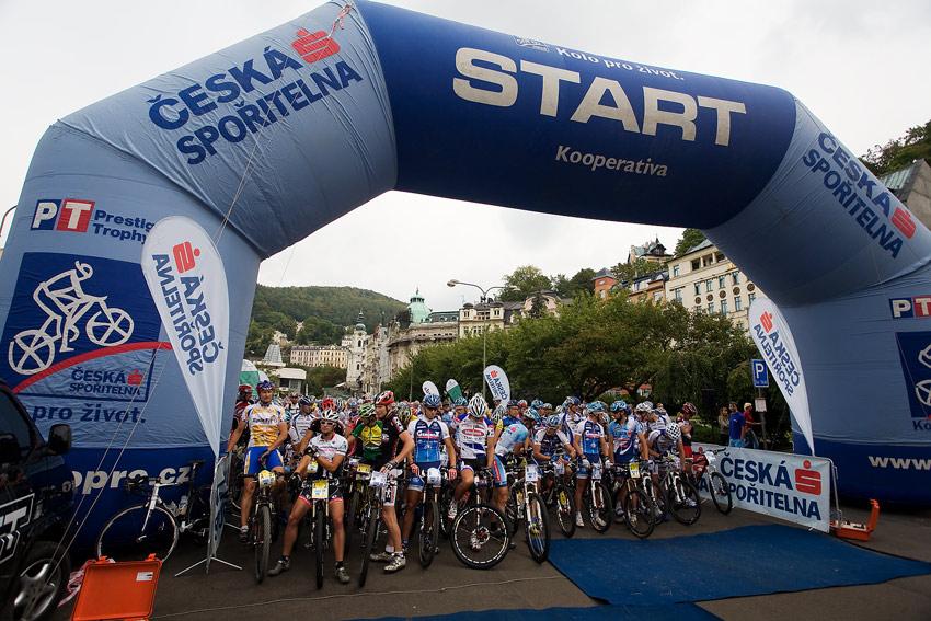 KP� AM bikemaraton �S Karlovy Vary 2009