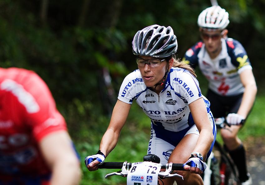 KP� AM bikemaraton �S Karlovy Vary 2009 - Petra Kottov�