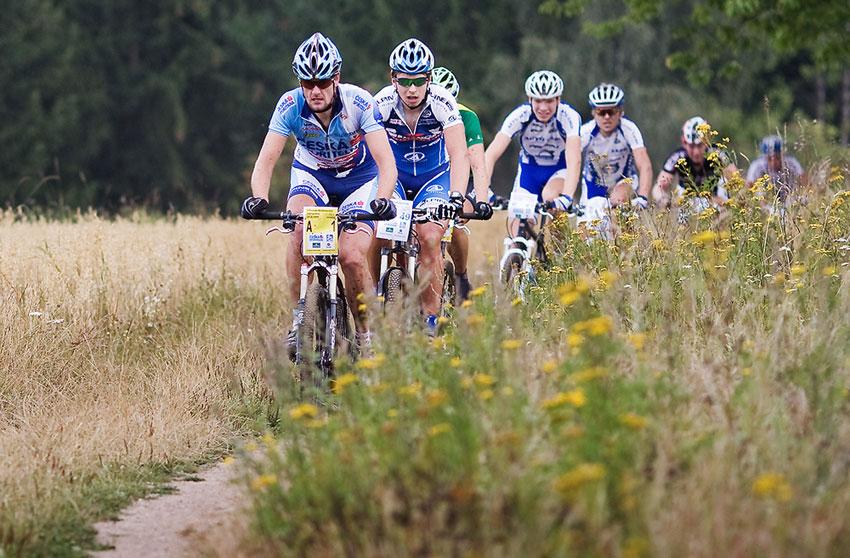 KPŽ AM bikemaraton ČS Karlovy Vary 2009 - Tomáš Trunschka, Jan Strož a další...