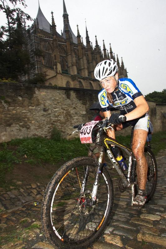 Český pohár XCO #5 - Kutná Hora 22.8. 2009 - Lucie Veselá