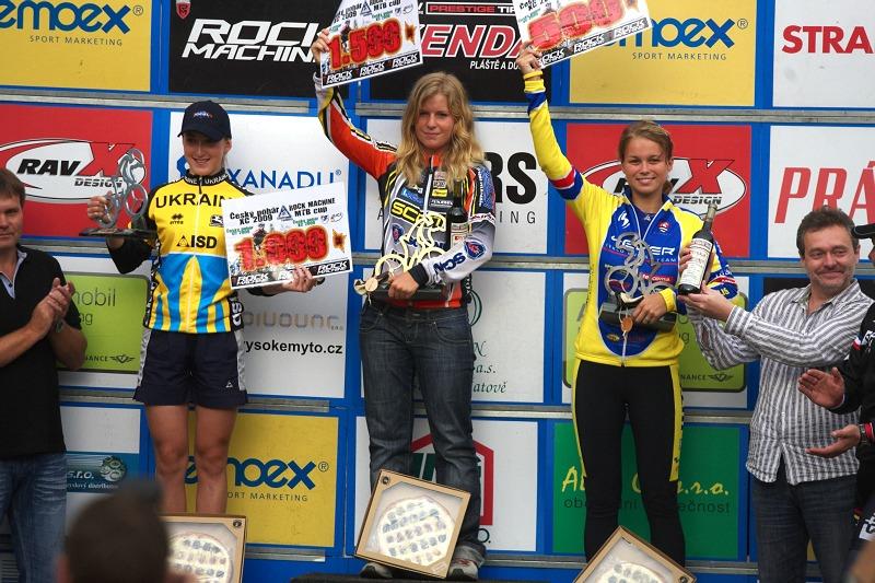 Český pohár XCO #5 - Kutná Hora 22.8. 2009 - juniorky