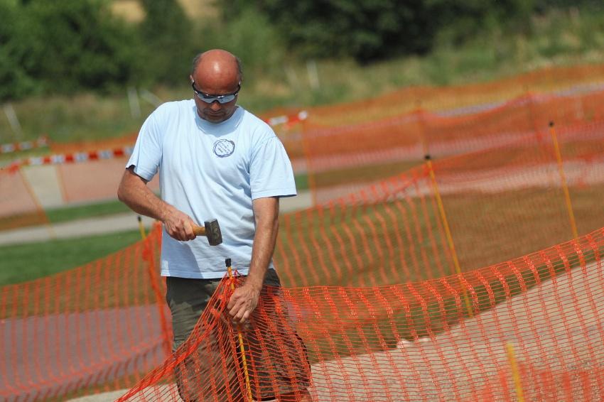 Finále Jihočeského poháru MTB 09 v Novosedlech - trenér Jiří Lutovský