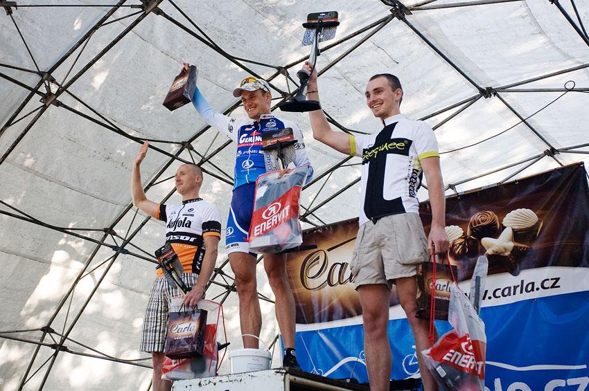 Podkrkonošský maraton 2009 - 90 km M40: 1. Ježek 2. Klap 3. Stadtherr