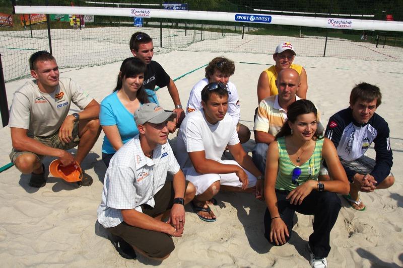 Sport Invest setkání sportovců 18.8.2009 - maňáskové divadlo