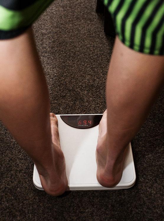 MTB reprezentační soustředění Trutnov 09 - J.N.: 69,4 kg