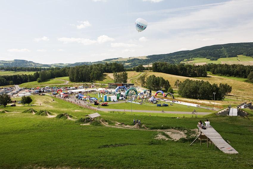 KPŽ Ještěd Tour 2009 - areál ve Vesci