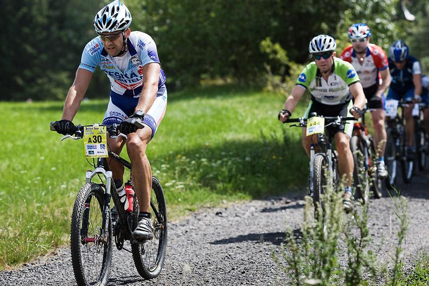KPŽ Ještěd Tour 2009 - Tomáš Přibyl kousek před Rašovkou
