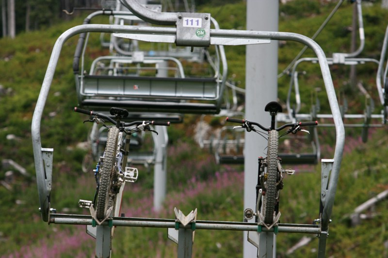 MRSN Crankworks Trip 2009, freeride Whistler, Kanada.