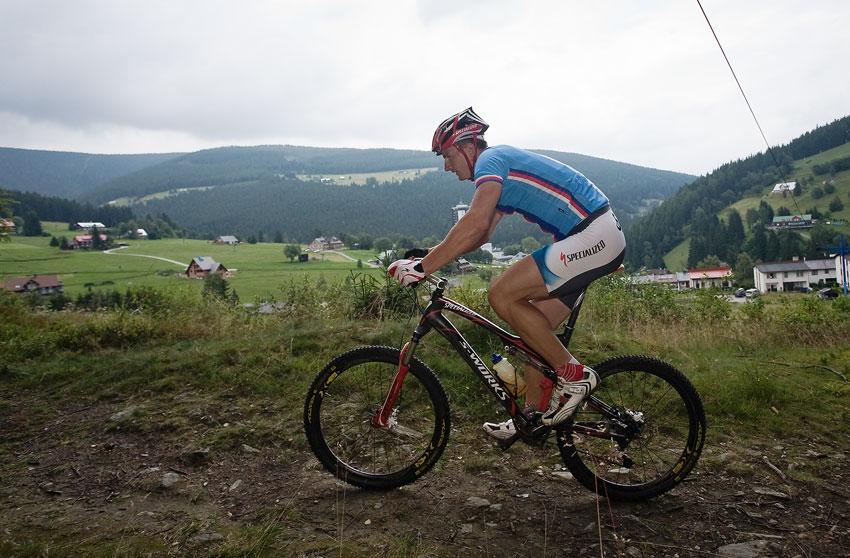 Pec pod Sn�kou 2009 - nov� XC tra� - Pavel Boudn�
