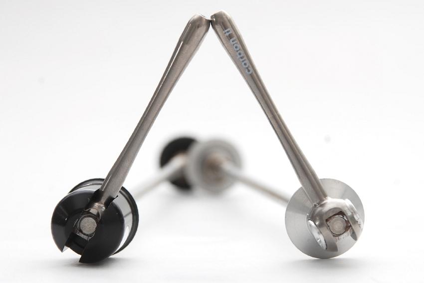 Luxusí komponenty Carbon-Ti: rychloupínáky X-Lock a X-Lock Special
