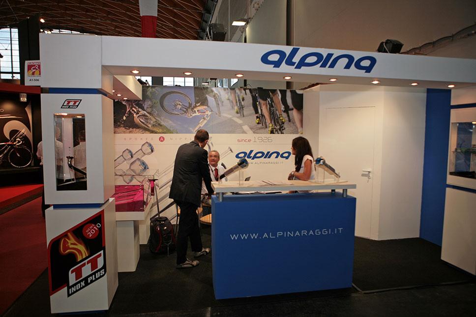 Alpina spokes 2010 na Eurobiku 2009
