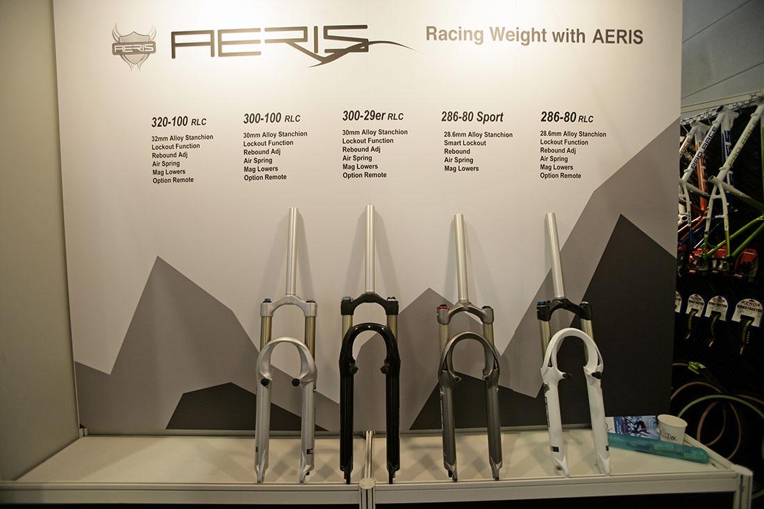 Aeris produkty 2010 na Eurobiku 2009