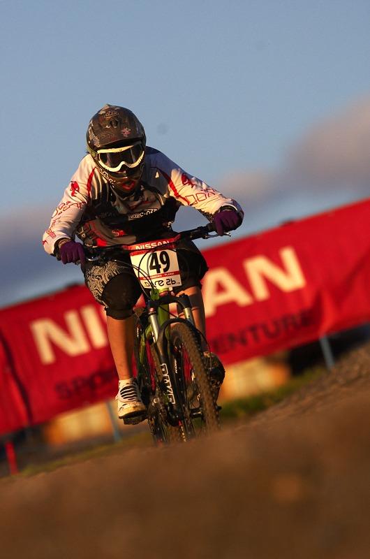 Nissan UCI MTB 4X #8, Schladming 19.9. 2009 - Tereza Votavová