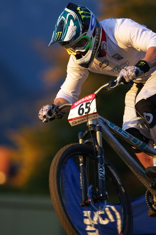 Nissan UCI MTB 4X #8, Schladming 19.9. 2009 - Jared Graves osobn�