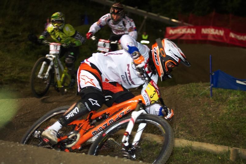 Nissan UCI MTB 4X #8, Schladming 19.9. 2009 - Anneke Beerten