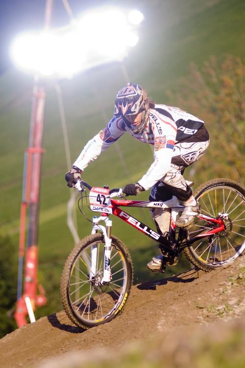 Světový pohár 4X, Schladming 2009: Romana Labounková v kvalifikaci