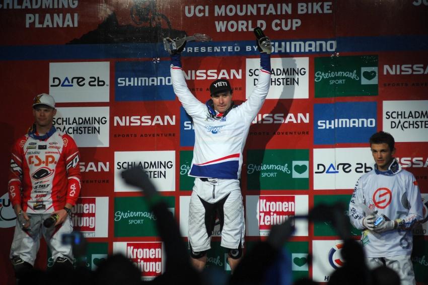 Světový pohár 4X, Schladming 2009: Graves vítězem letošního SP 4X