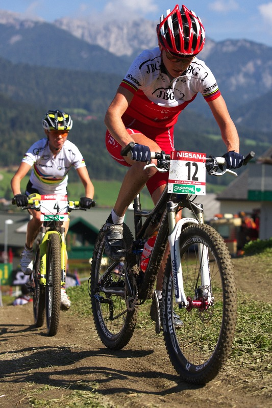 Nissan UCI MTB World Cup XCO #8, Schladming 19.9. 2009 - Anna Szafraniec