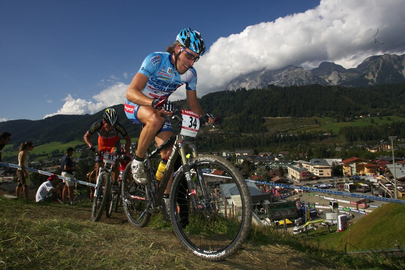 Nissan UCI MTB World Cup XCO #8, Schladming 19.9. 2009 - Milan Sp�n�